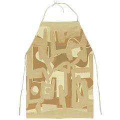 Abstract art Full Print Aprons