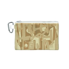 Abstract art Canvas Cosmetic Bag (S)