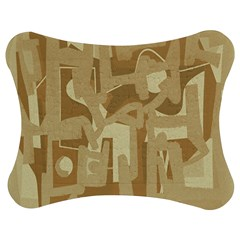 Abstract art Jigsaw Puzzle Photo Stand (Bow)
