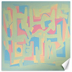 Abstract art Canvas 16  x 16