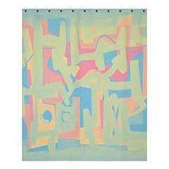 Abstract art Shower Curtain 60  x 72  (Medium)