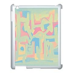 Abstract art Apple iPad 3/4 Case (White)