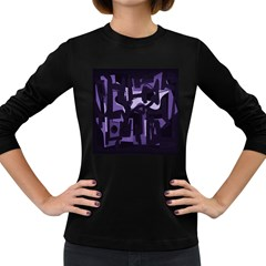 Abstract art Women s Long Sleeve Dark T-Shirts