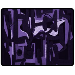 Abstract art Fleece Blanket (Medium)