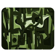 Abstract art Double Sided Flano Blanket (Medium)