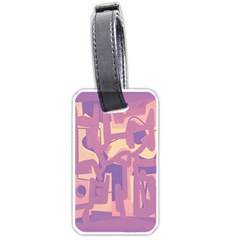 Abstract art Luggage Tags (Two Sides)