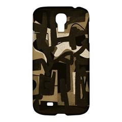 Abstract art Samsung Galaxy S4 I9500/I9505 Hardshell Case