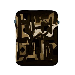 Abstract art Apple iPad 2/3/4 Protective Soft Cases