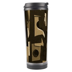 Abstract art Travel Tumbler