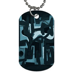 Abstract art Dog Tag (One Side)