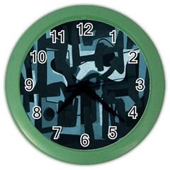 Abstract art Color Wall Clocks