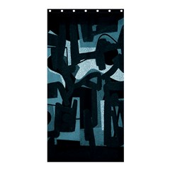 Abstract art Shower Curtain 36  x 72  (Stall)