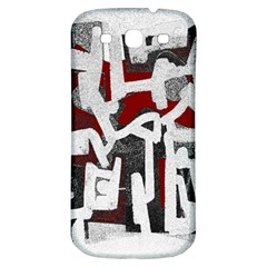 Abstract art Samsung Galaxy S3 S III Classic Hardshell Back Case