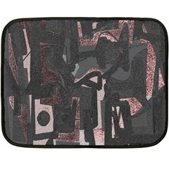 Abstract art Double Sided Fleece Blanket (Mini)