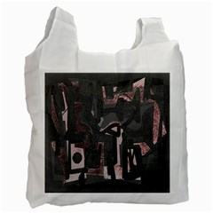 Abstract art Recycle Bag (One Side)