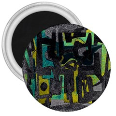 Abstract art 3  Magnets