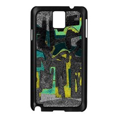 Abstract art Samsung Galaxy Note 3 N9005 Case (Black)