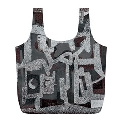 Abstract art Full Print Recycle Bags (L)