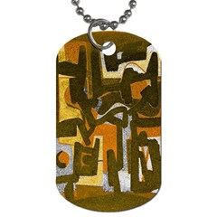 Abstract art Dog Tag (Two Sides)