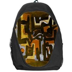 Abstract art Backpack Bag