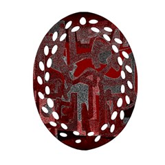 Abstract art Ornament (Oval Filigree)