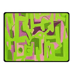 Abstract art Double Sided Fleece Blanket (Small)