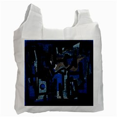 Abstract art Recycle Bag (Two Side)