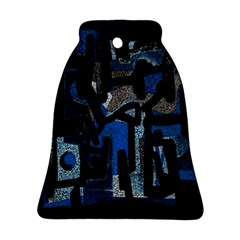 Abstract art Bell Ornament (Two Sides)