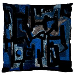 Abstract art Large Cushion Case (One Side)