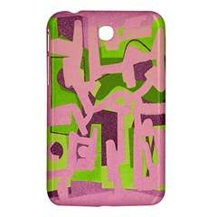 Abstract art Samsung Galaxy Tab 3 (7 ) P3200 Hardshell Case