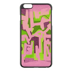 Abstract art Apple iPhone 6 Plus/6S Plus Black Enamel Case