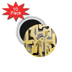 Abstract art 1.75  Magnets (10 pack)