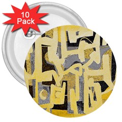 Abstract art 3  Buttons (10 pack)
