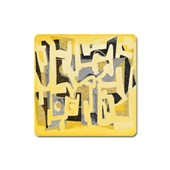 Abstract art Square Magnet