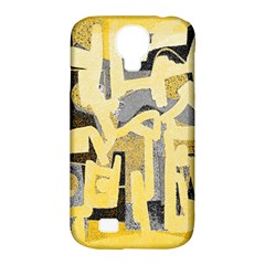 Abstract art Samsung Galaxy S4 Classic Hardshell Case (PC+Silicone)
