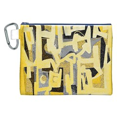 Abstract art Canvas Cosmetic Bag (XXL)