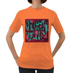 Abstract art Women s Dark T-Shirt