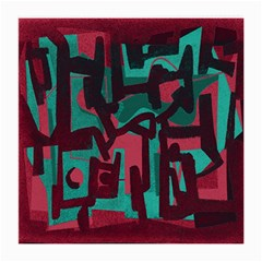 Abstract art Medium Glasses Cloth