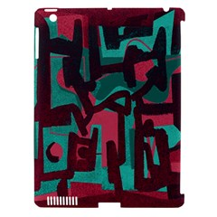 Abstract art Apple iPad 3/4 Hardshell Case (Compatible with Smart Cover)