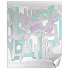 Abstract art Canvas 16  x 20