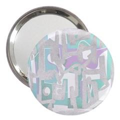Abstract art 3  Handbag Mirrors