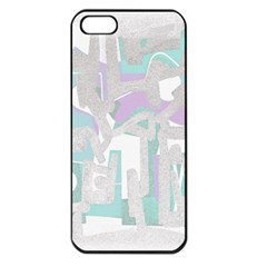 Abstract art Apple iPhone 5 Seamless Case (Black)