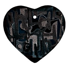 Abstract art Ornament (Heart)