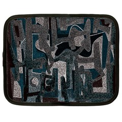 Abstract art Netbook Case (Large)