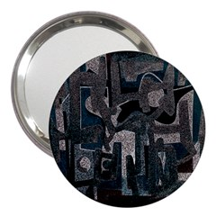 Abstract art 3  Handbag Mirrors
