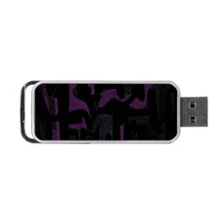 Abstract art Portable USB Flash (One Side)