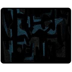 Abstract Art Fleece Blanket (medium)