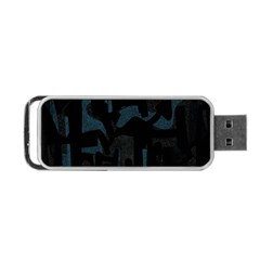 Abstract Art Portable Usb Flash (two Sides)