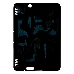 Abstract art Kindle Fire HDX Hardshell Case