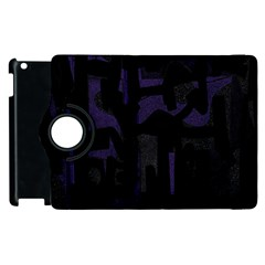 Abstract art Apple iPad 2 Flip 360 Case